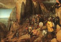 Pieter The Elder Bruegel : The Conversion of Saul